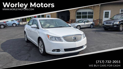 2011 Buick LaCrosse for sale at Worley Motors in Enola PA