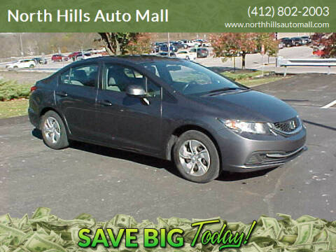 2013 Honda Civic for sale at North Hills Auto Mall in Pittsburgh PA