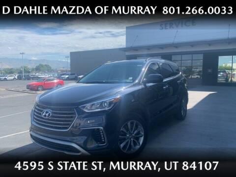 2017 Hyundai Santa Fe for sale at D DAHLE MAZDA OF MURRAY in Salt Lake City UT