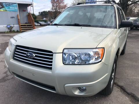 2007 Subaru Forester for sale at Atlantic Auto Sales in Garner NC