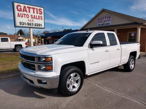 2015 Chevrolet Silverado 1500 for sale at Gattis Auto Sales LLC in Winchester TN