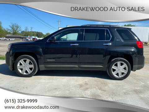 2012 GMC Terrain for sale at DRAKEWOOD AUTO SALES in Portland TN