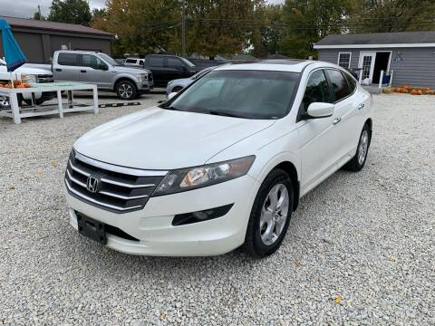 2012 Honda Crosstour for sale at Davidson Auto Deals in Syracuse IN