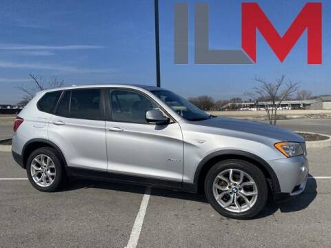 2011 BMW X3 for sale at INDY LUXURY MOTORSPORTS in Fishers IN