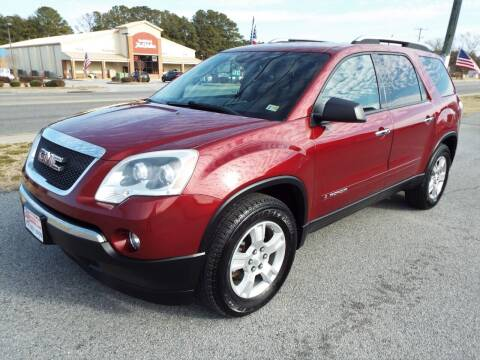 2008 GMC Acadia for sale at USA 1 Autos in Smithfield VA