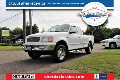 1997 Ford F-150 for sale at St. Croix Classics in Lakeland MN