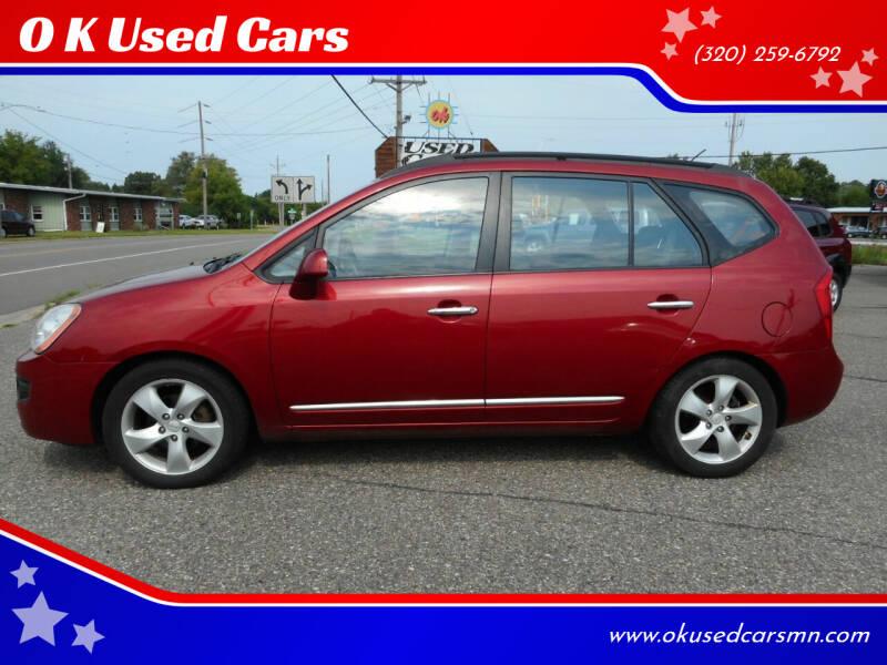 2008 Kia Rondo for sale at O K Used Cars in Sauk Rapids MN