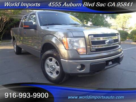 2014 Ford F-150 for sale at World Imports in Sacramento CA