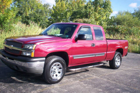 2005 Chevrolet Silverado 1500 for sale at Action Auto Wholesale - 30521 Euclid Ave. in Willowick OH