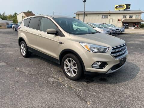 2017 Ford Escape for sale at Riverside Auto Sales & Service in Portland ME