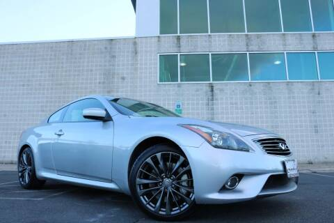 2011 Infiniti G37 Coupe for sale at Chantilly Auto Sales in Chantilly VA