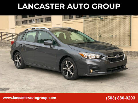 2019 Subaru Impreza for sale at LANCASTER AUTO GROUP in Portland OR