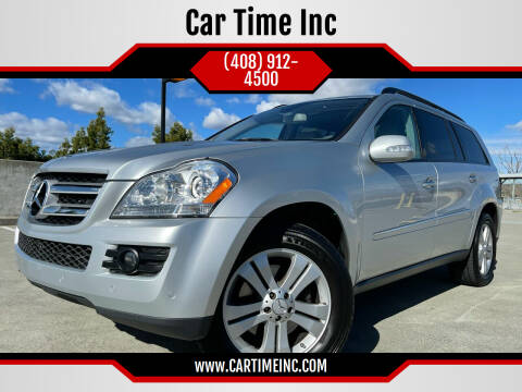 2007 Mercedes-Benz GL-Class for sale at Car Time Inc in San Jose CA