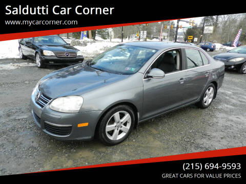 2008 Volkswagen Jetta for sale at Saldutti Car Corner in Gilbertsville PA