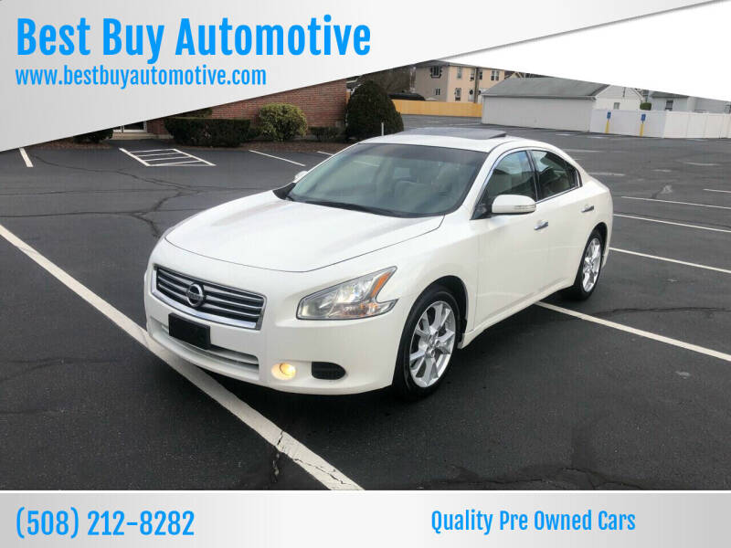 2012 Nissan Maxima for sale at Best Buy Automotive in Attleboro MA