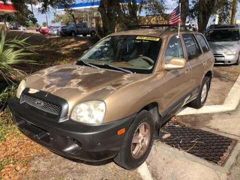 2002 Hyundai Santa Fe for sale at Castagna Auto Sales LLC in Saint Augustine FL