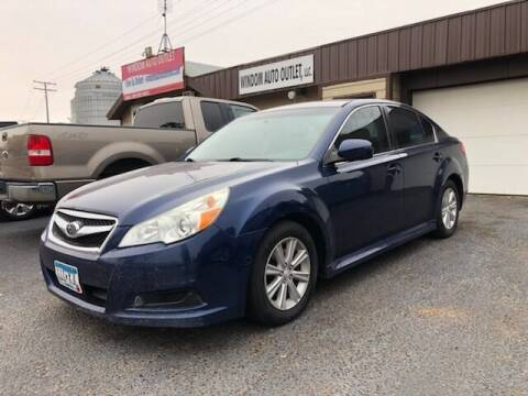 2010 Subaru Legacy for sale at WINDOM AUTO OUTLET LLC in Windom MN