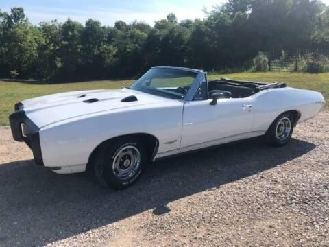 1968 Pontiac GTO for sale at Classic Car Deals in Cadillac MI