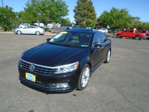 2017 Volkswagen Passat for sale at Team D Auto Sales in St George UT