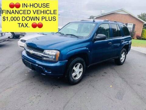 2006 Chevrolet TrailBlazer for sale at First Class Autos in Maiden NC