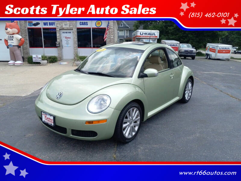 2008 Volkswagen New Beetle for sale at Scotts Tyler Auto Sales in Wilmington IL