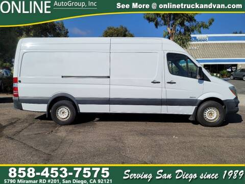 2014 Freightliner Sprinter Cargo for sale at Online Auto Group Inc in San Diego CA