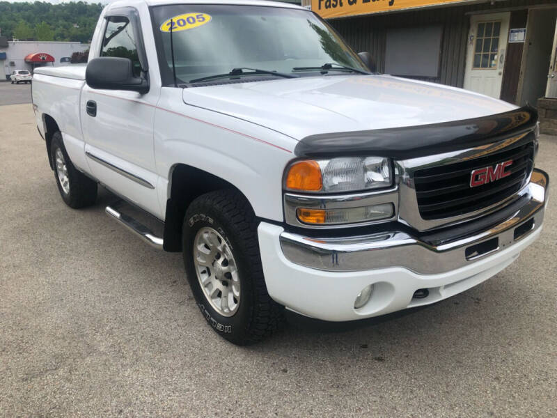 2005 GMC Sierra 1500 for sale at Worldwide Auto Group LLC in Monroeville PA