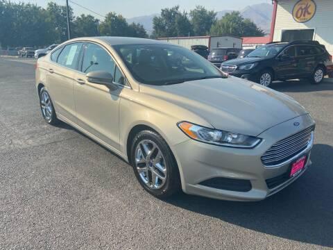 2015 Ford Fusion for sale at Clarkston Auto Sales in Clarkston WA
