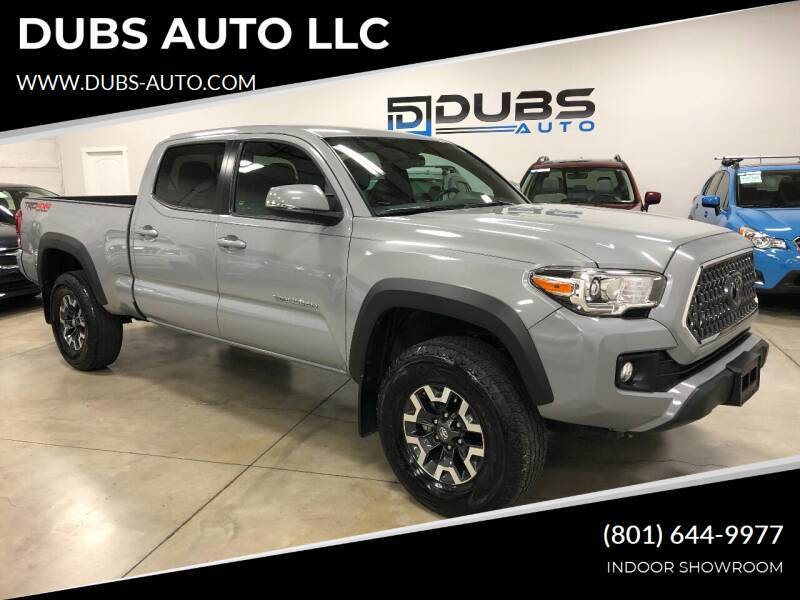 2018 Toyota Tacoma for sale at DUBS AUTO LLC in Clearfield UT