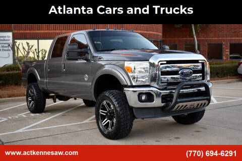 2014 Ford F-250 Super Duty for sale at Atlanta Cars and Trucks in Kennesaw GA