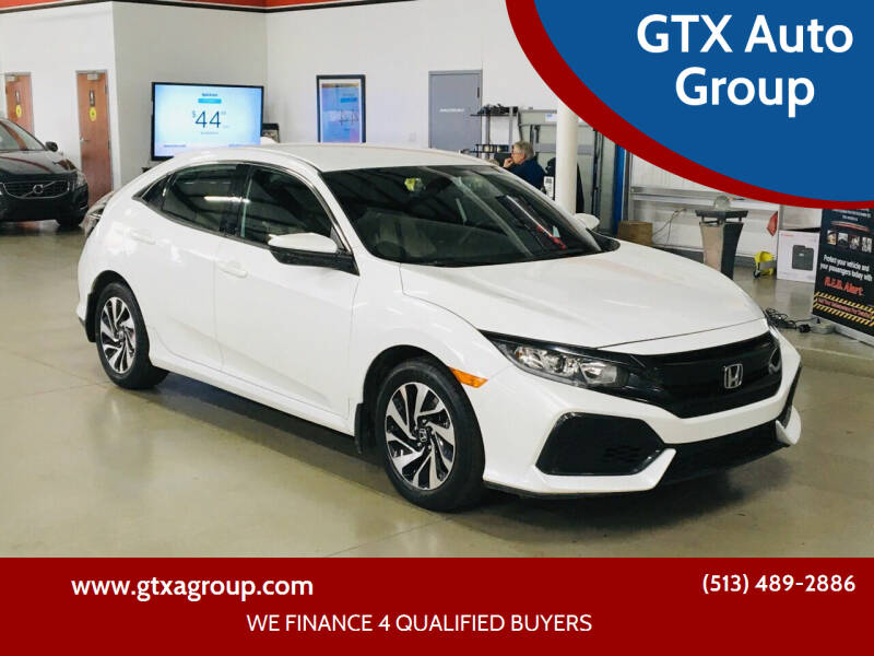 2017 Honda Civic for sale at GTX Auto Group in West Chester OH