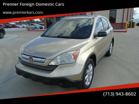 2009 Honda CR-V for sale at Premier Foreign Domestic Cars in Houston TX