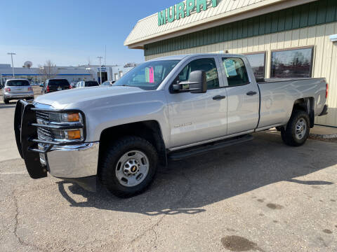 2015 Chevrolet Silverado 2500HD for sale at Murphy Motors Next To New Minot in Minot ND
