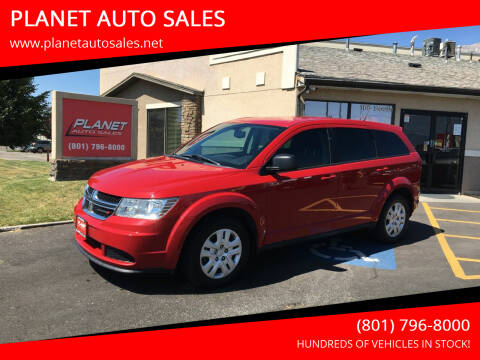 2015 Dodge Journey for sale at PLANET AUTO SALES in Lindon UT