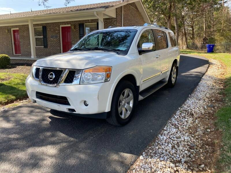 2011 Nissan Armada for sale at Unique Auto Sales in Knoxville TN