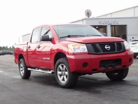 2012 Nissan Titan for sale at Szott Ford in Holly MI