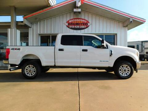 2018 Ford F-250 Super Duty for sale at Motorsports Unlimited in McAlester OK