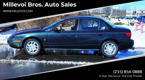 2000 Saturn S-Series for sale at Millevoi Bros. Auto Sales in Philadelphia PA