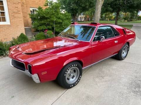 1968 AMC AMX for sale at Classic Car Deals in Cadillac MI