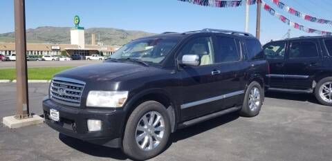 2009 Infiniti QX56 for sale at Auto Image Auto Sales in Pocatello ID