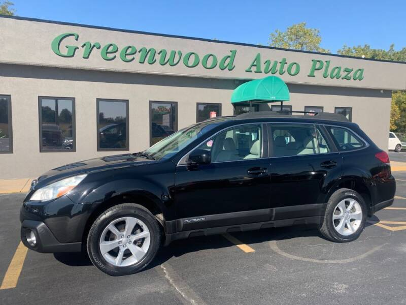 2014 Subaru Outback for sale at Greenwood Auto Plaza in Greenwood MO