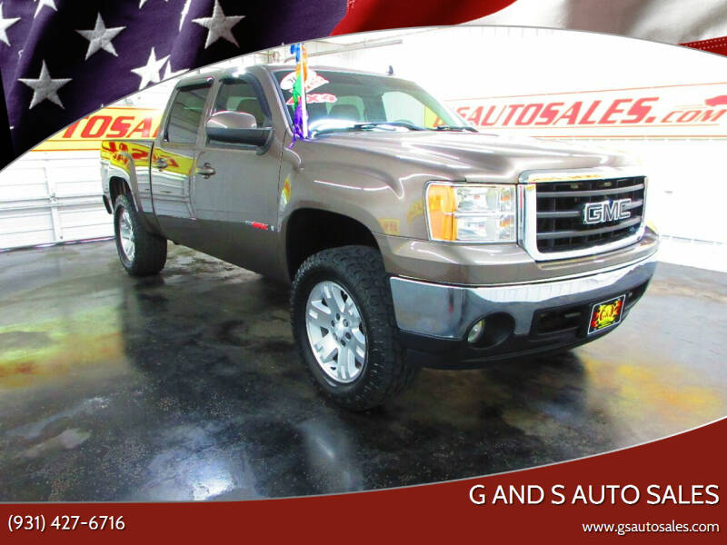 2007 GMC Sierra 1500 for sale at G and S Auto Sales in Ardmore TN