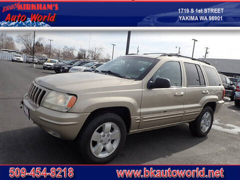 2001 Jeep Grand Cherokee for sale at Bruce Kirkham Auto World in Yakima WA