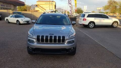 2014 Jeep Cherokee for sale at 1ST AUTO & MARINE in Apache Junction AZ