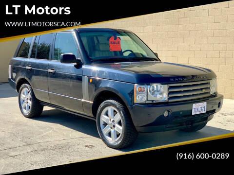 2003 Land Rover Range Rover for sale at LT Motors in Rancho Cordova CA