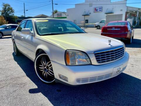 2005 Cadillac DeVille for sale at T.K. AUTO SALES LLC in Salisbury NC