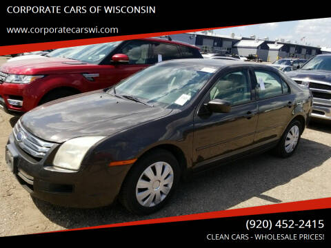 2006 Ford Fusion for sale at CORPORATE CARS OF WISCONSIN in Sheboygan WI