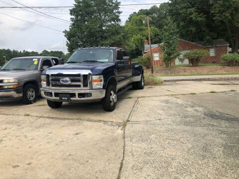 2008 Ford F-350 Super Duty for sale at Moore's Motors in Durham NC