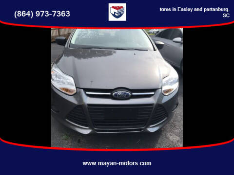2012 Ford Focus for sale at Mayan Motors Easley in Easley SC