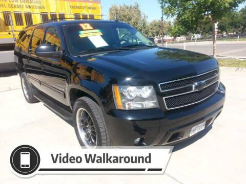 2012 Chevrolet Suburban for sale at Super Cars Sales Inc #1 - Super Auto Sales Inc #2 in Modesto CA